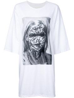 свободная футболка  Strateas Carlucci