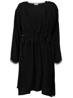 платье с присборенной талией Fendi