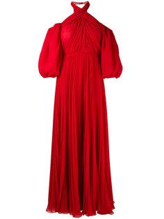 платье с открытыми плечами Giambattista Valli