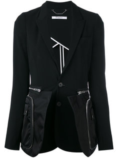 классический пиджак с молниями Givenchy