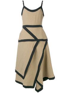 платье из разных лоскутков JW Anderson