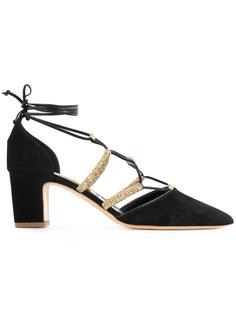 туфли с завязками Rupert Sanderson