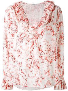 рубашка с цветочным узором Vilshenko