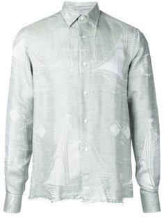 рубашка с бахромой  Loewe