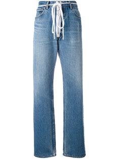 джинсы с молниями Levi  Off-White