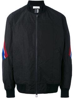 куртка-бомбер с полосками  Facetasm
