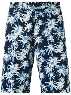 шорты с принтом пальм Edwin