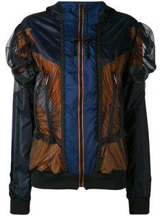 куртка с панельным дизайном и сетчатой отделкой Maison Margiela