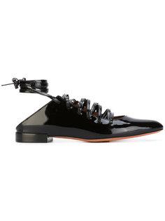 балетки со шнуровкой Givenchy