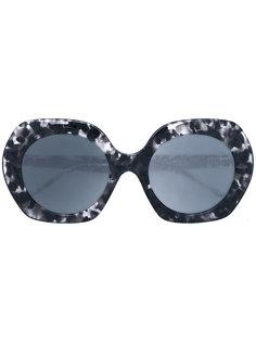 солнцезащитные очки с массивной оправой Thom Browne Eyewear