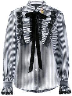 рубашка с полоску с оборками  Marc Jacobs