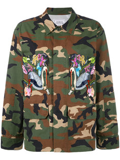 куртка милитари с вышивкой  Forte Couture