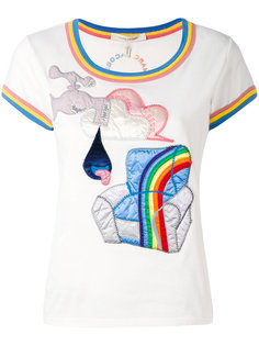 футболка с аппликацией Julie Verhoeven Marc Jacobs