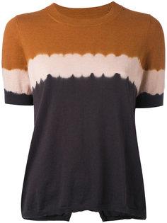 футболка с градиентным эффектом Isabel Marant Étoile