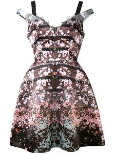 платье с цветочным принтом  Natasha Zinko