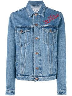 джинсовая куртка с вышивкой Forte Couture