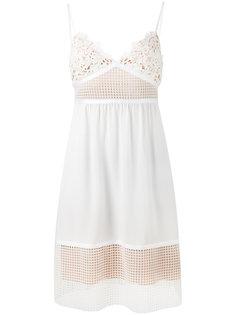 платье с кружевной отделкой Theory