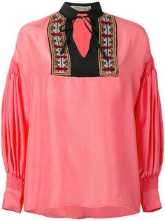блузка шифт с длинными рукавами Etro