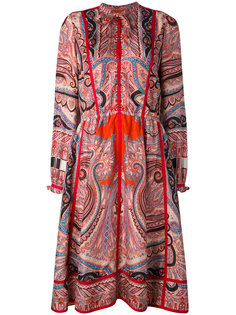 платье-рубашка с узором пейсли Etro