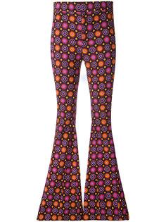 расклешенные брюки с психоделическим принтом Givenchy