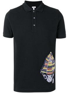 футболка-поло с абстрактным принтом Loewe