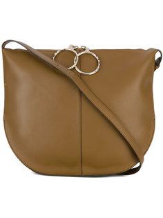 полукруглая сумка на плечо Nina Ricci