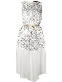 платье с узором Fabiana Filippi