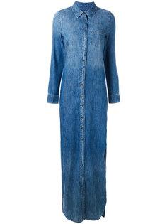 джинсовое платье с потертой отделкой Equipment