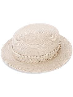 шляпа с окантовкой в виде плетения Gigi Burris Millinery
