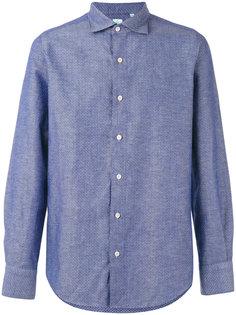 рубашка с мелким узором Tokyo Finamore 1925 Napoli