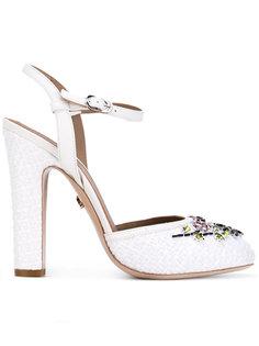туфли с украшением из кристаллов Le Silla