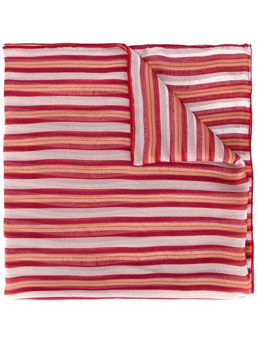 полосатый шарф  Ermanno Gallamini