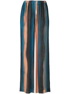 широкие полосатые брюки Raquel Allegra