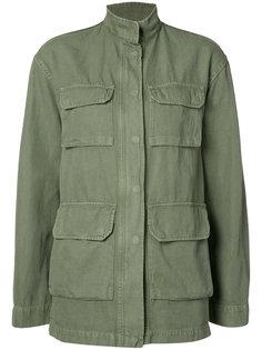 широкая куртка в стиле милитари Nili Lotan