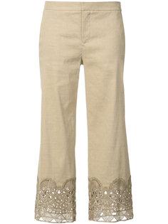 укороченные брюки с декором Kobi Halperin