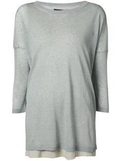 блуза с рукавами три-четверти Fabiana Filippi