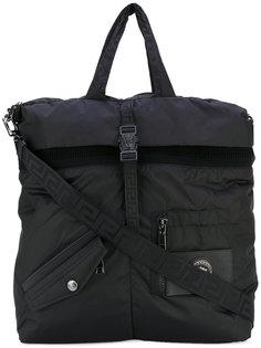 сумка на плечо с фирменной бляшкой Versus