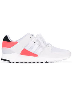 кроссовки на шнуровке со вставкой в полоску  Adidas