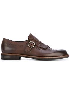 ботинки-монки с бахромой Ermenegildo Zegna