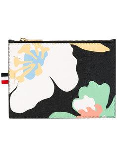 кошелек для монет с цветочным принтом Thom Browne