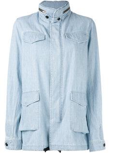куртка из ткани шамбре Vis A Vis