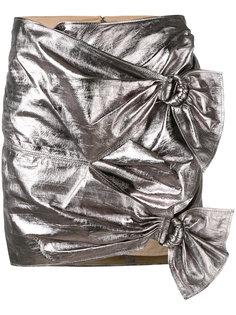 юбка с отделкой металлик Isabel Marant
