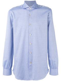рубашка в микро-принт Kiton