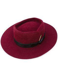 шляпа с бантом сбоку Nick Fouquet