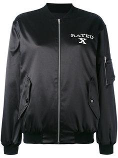 куртка-бомбер X Rated Jeremy Scott