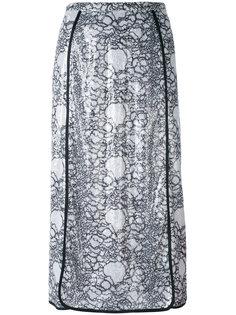 декорированная юбка миди  Marco De Vincenzo