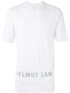 футболка с логотипом Helmut Lang