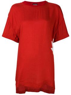 футболка свободного кроя Dsquared2