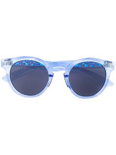 солнцезащитные очки с принтом на линзах Italia Independent