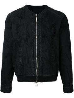 состаренная куртка-бомбер Fagassent